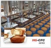 Full-automatic Center Filled/Cup Cake Production Line
