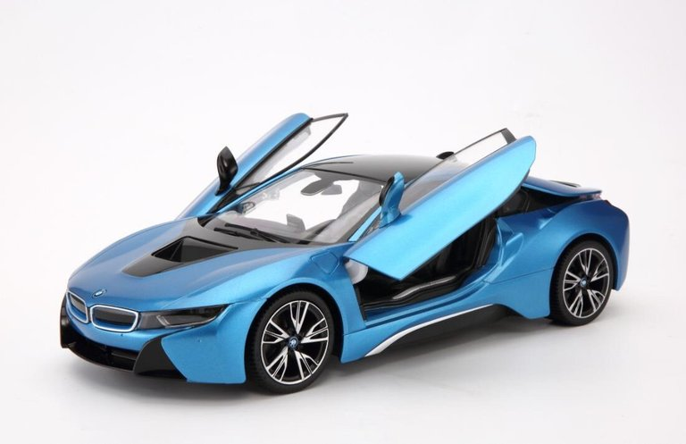 1:14 R/C Licensed BMW i8 Authentic w/Open Doors|KSKids Auto