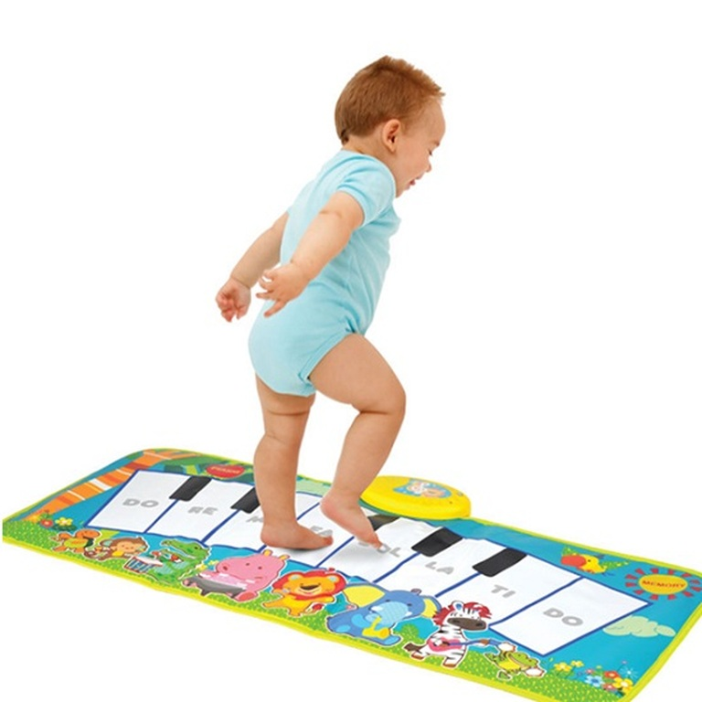 Electronic Musical Piano Play Mat