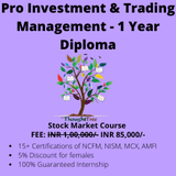 Pro Investment and Trading Management Course – 1 Year Diploma