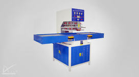 Auto sliding table high frequency machine for blister packing