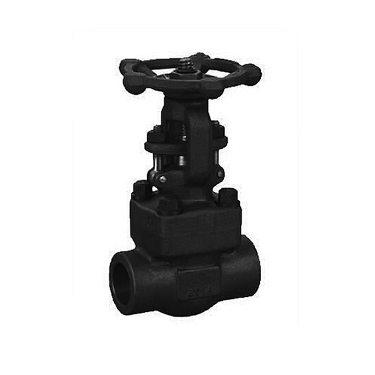 Welded Bonnet Forged Gate Valve
