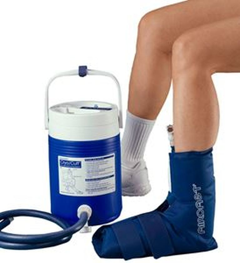 Aircast Ankle Cryo Cuff With Cooler