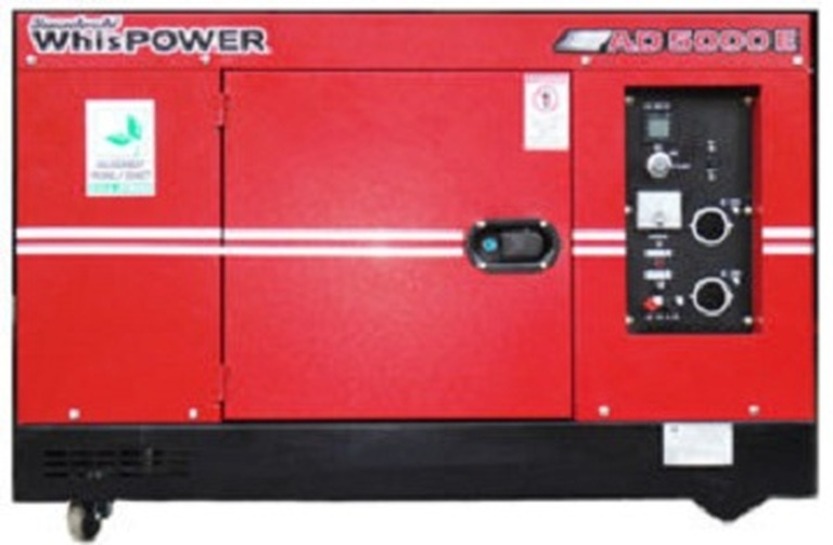 WhisPower 3.5 KVA Portable Diesel Generator (AD3500E)