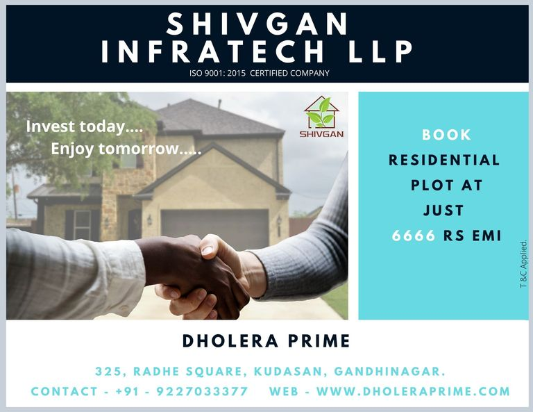 Dholera Sir Residential Plots | Residential Plot for Sale
