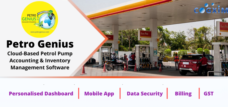 Petro Genius - Cloud-Based Petrol Pump/Bunk Management Software