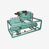 Two Stage Piston Type Industrial Water Chiller