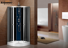 Best Price European Style Quickly Install Sliding Door Shower Cabin With Wheels For Hotel